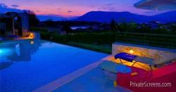 Breathtaking Nighttime Pool Views