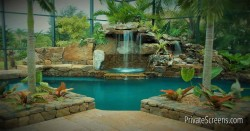 Tropical-Themed Interior Design