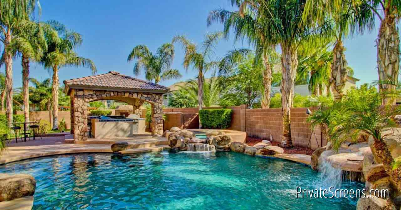 Pool Areas That Feel Like a Tropical Oasis-Stone On Stone