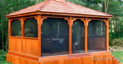 Eight Ways to Banish Mosquitoes from Your Gazebo