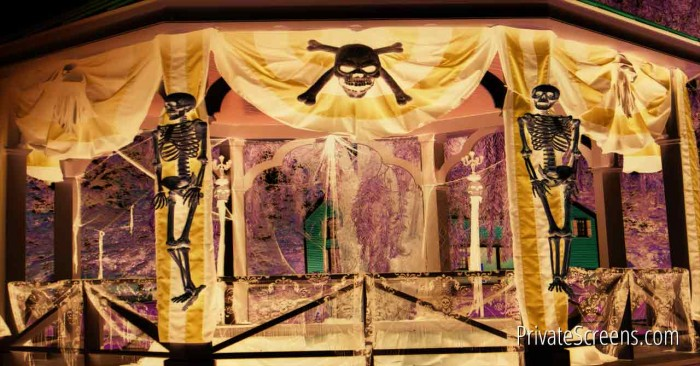 Spooky Halloween Decorating Ideas for Your Gazebo