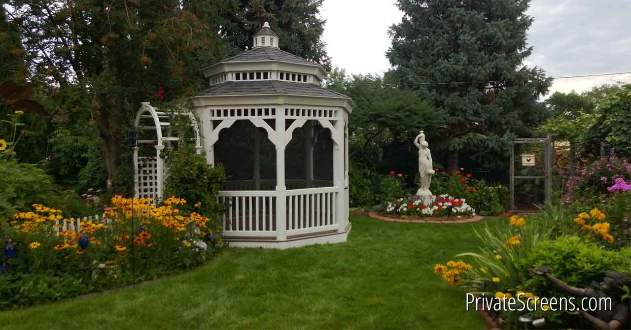 The Finishing Touch Landscaping For Your Gazebo