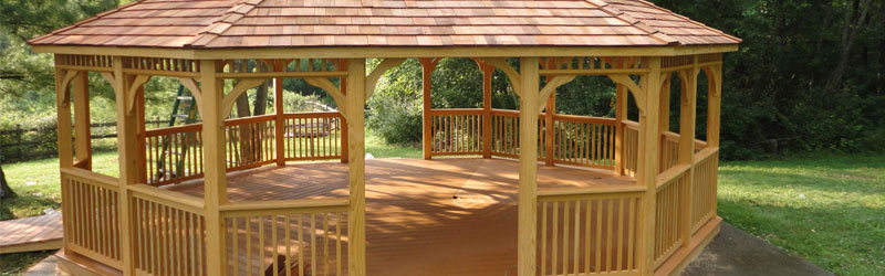 8 Awesome Gazebo Ideas-All wood