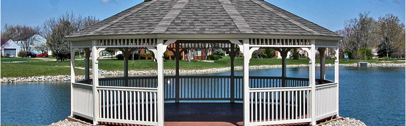8 Awesome Gazebo Ideas-Dodecagonal