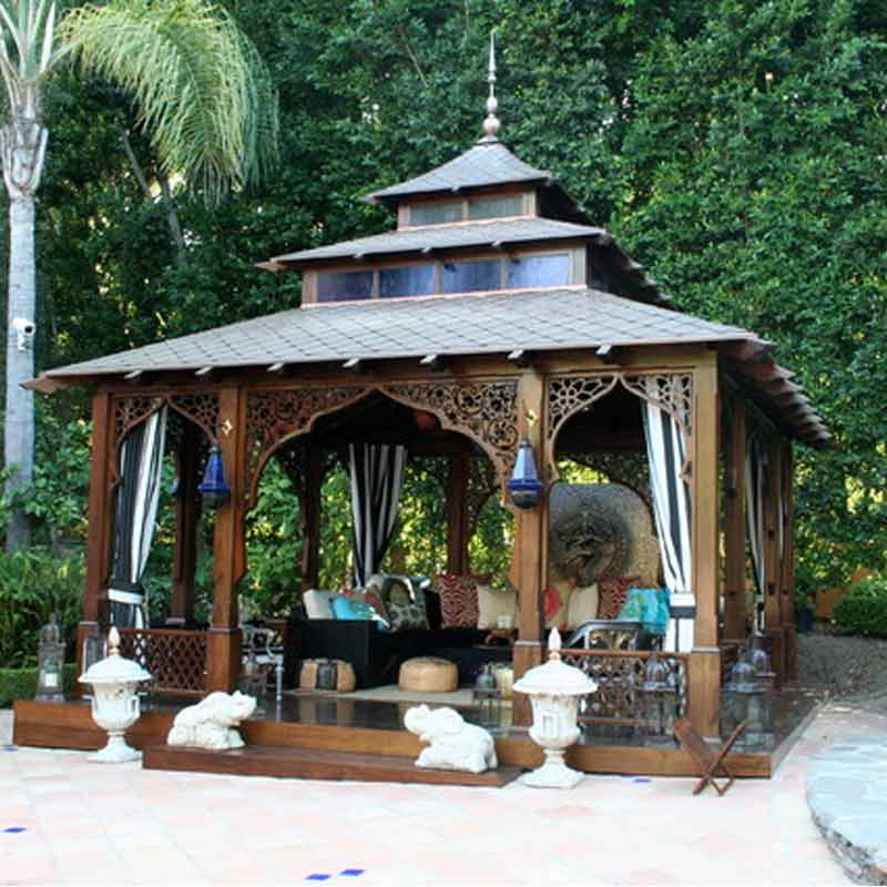 10 Gorgeous Gazebos that Feel Like a Dream Getaway-On the Ganges