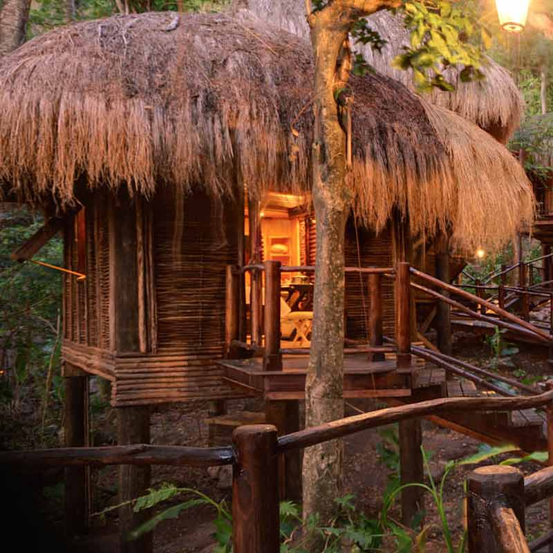 10 Gorgeous Gazebos that Feel Like a Dream Getaway-Rainforest retreat