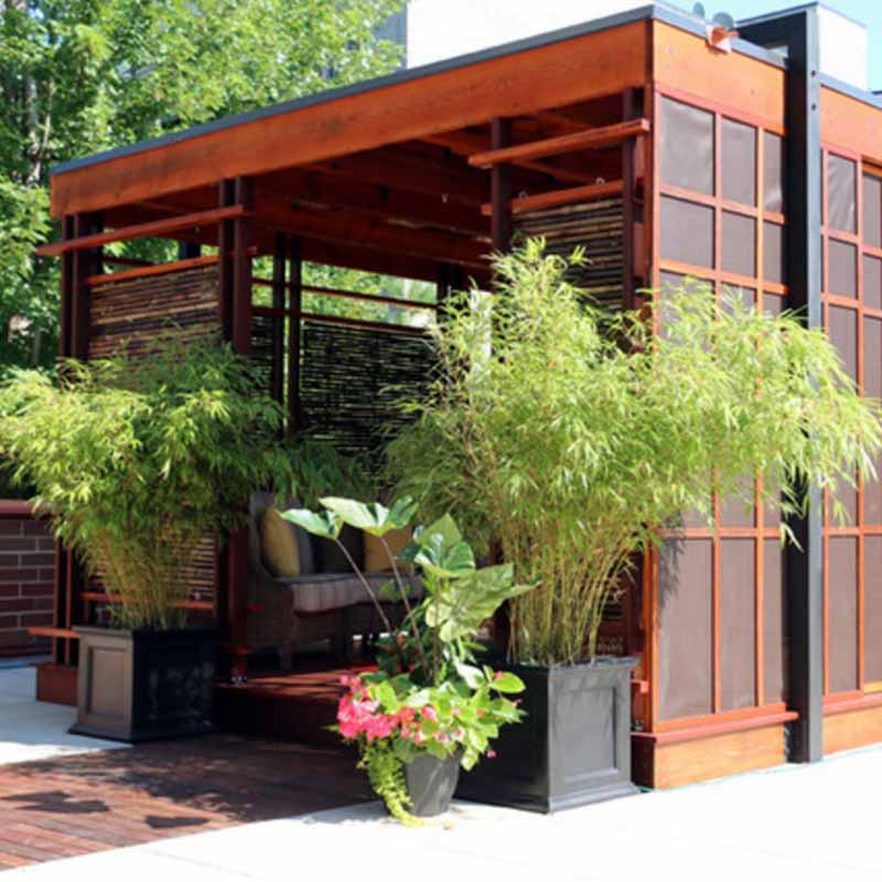 10 Gorgeous Gazebos that Feel Like a Dream Getaway-Tea house