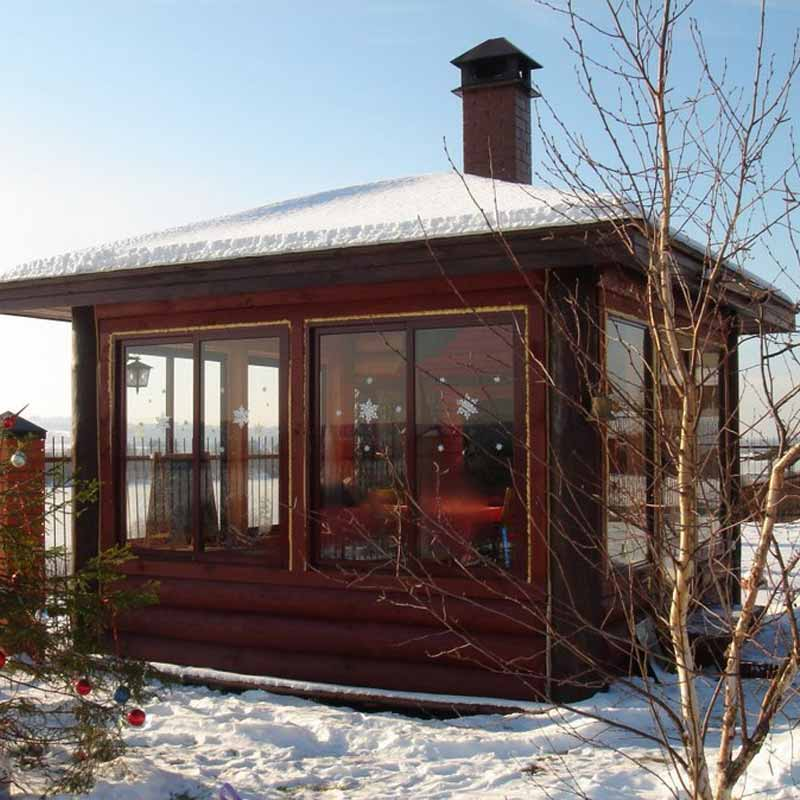 Winter Wonderland: How to Stay Warm While Enjoying Your Gazebo This Winter-Close it up