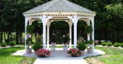 Low-Maintenance Landscaping for Your Gazebo