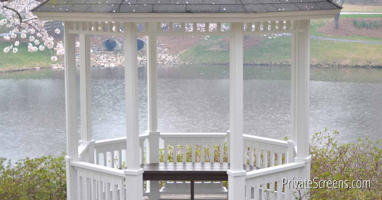 How to Make the Most of Your Gazebo on Rainy Days