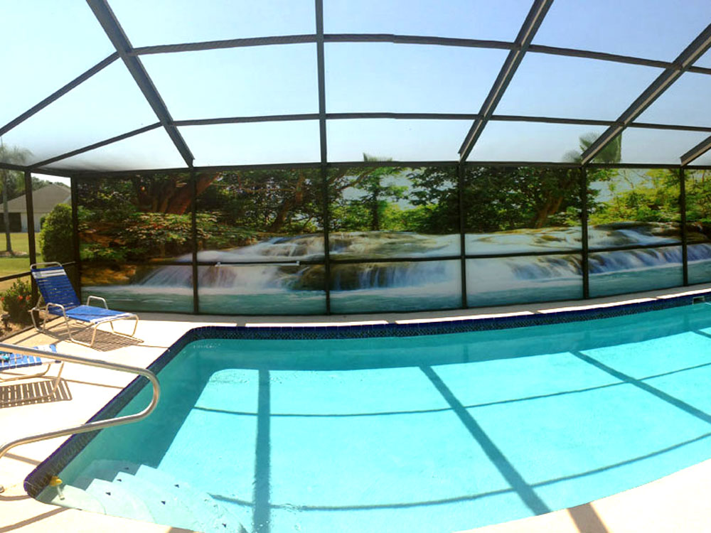 Private screens for Privacy pool screen