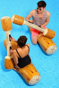 Inflatable Logs