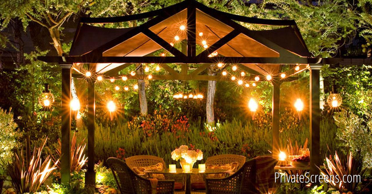 gazebo lighting examples